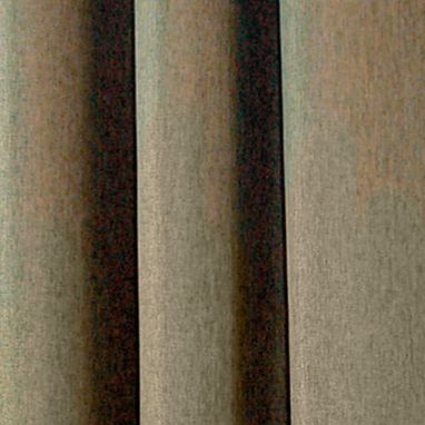 Solid Curtains: Mercury Commonwealth Home Fashions HARRISON GRMMT PNL TOASTED ALMOND 84IN