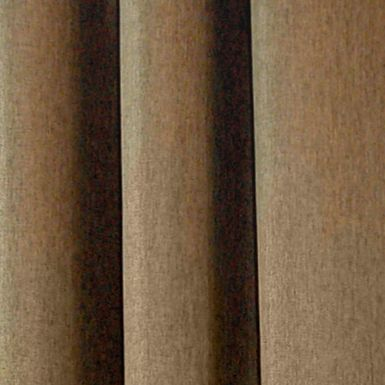 Solid Curtains: Chocolate Commonwealth Home Fashions HARRISON GRMMT PNL TOASTED ALMOND 84IN