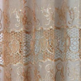 Solid Curtains: Mushroom Commonwealth Home Fashions ANNAMARIA TLRD PCKT PNL MSHRM 63IN