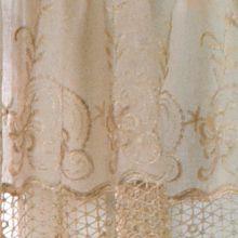Solid Curtains: Mushroom Commonwealth Home Fashions ANNAMARIA VALANCE MSHRM