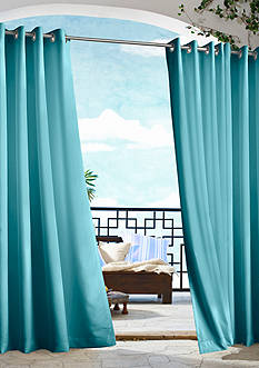 Commonwealth Home Fashions GAZEBO SLD OUTDR GRMMT PNL BLUE 84IN