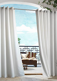 Commonwealth Home Fashions GAZEBO SLD OUTDR GRMMT PNL WHT 96IN