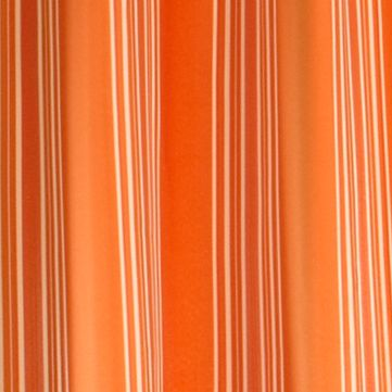 Patterned Curtains: Orange Commonwealth Home Fashions GAZEBO STRIPE OUTDR GRMMT PNL BLUE 84IN