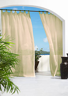 Commonwealth Home Fashions ESCAPE OUTDR HL TAB PNL TPE 108IN