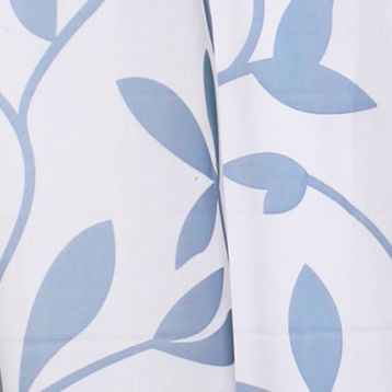 Patterned Curtains: Blue Commonwealth Home Fashions ESCAPE LF OUTDR GRMMT PNL KHAKI 84IN