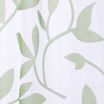 Patterned Curtains: Green Commonwealth Home Fashions ESCAPE LF OUTDR GRMMT PNL GREEN 84IN