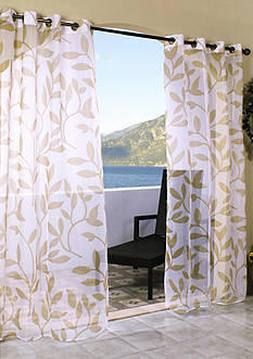 Commonwealth Home Fashions ESCAPE LF OUTDR GRMMT PNL KHAKI 84IN