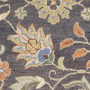 Discount Area Rugs: Pewter Kaleen HELENA 4X6 DS