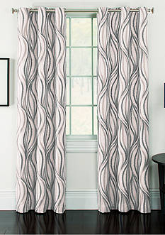 Arlee Home Fashions Inc.™ Celestina Wave Jacquard Grommet Panel