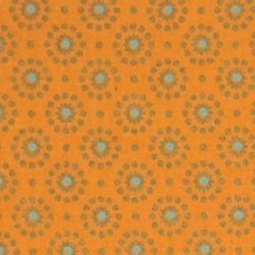 Discount Table Linens: Tangerine Echo ECHO TAJ PM 4 PACK TANGERINE