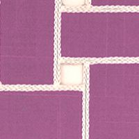 Table Linens and Placemats: Orchid Echo Lattice Place Mat 4-Pack