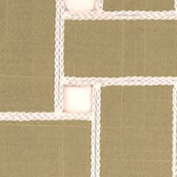 Table Linens and Placemats: White Pepper Echo Lattice Place Mat 4-Pack