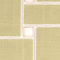 Table Linens and Placemats: Drizzle Echo Lattice Place Mat 4-Pack