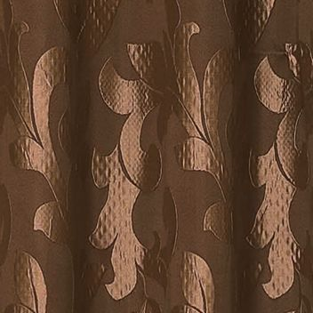 Patterned Curtains: Chocolate Dainty Home PALI 108X84 GROMMET PANEL PR TAUPE