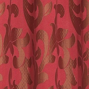 Patterned Curtains: Burgundy Dainty Home PALI 108X84 GROMMET PANEL PR TAUPE