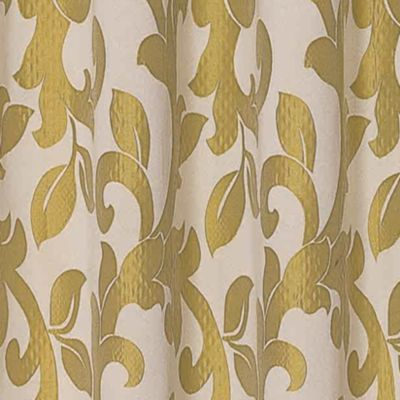 Patterned Curtains: Gold Dainty Home PALI 108X84 GROMMET PANEL PR TAUPE