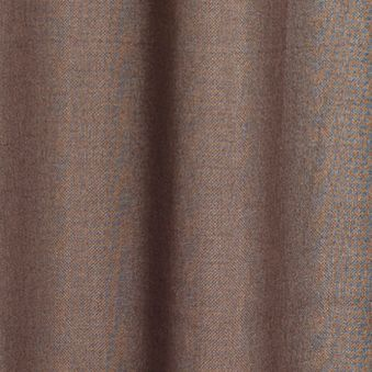 Solid Curtains: Chocolate Dainty Home Aliva Window Panel Pair