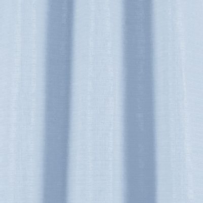 Solid Curtains: Baby Blue Dainty Home BLENDED SILK PANEL PR 76X84 SFOAM