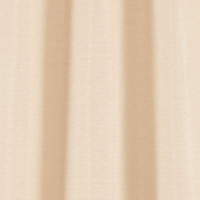 Solid Curtains: Sand Dainty Home BLENDED SILK PANEL PR 76X84 SFOAM