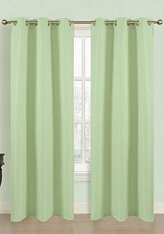 Dainty Home Blended Silk Window Panel Pair