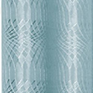 Patterned Curtains: Blue Dainty Home HELEN 110X84 GROMMET PANEL PR TPE