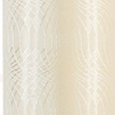 Patterned Curtains: Ivory Dainty Home HELEN 110X84 GROMMET PANEL PR TPE