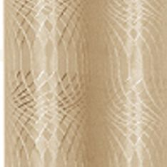 Patterned Curtains: Taupe Dainty Home HELEN 110X84 GROMMET PANEL PR TPE