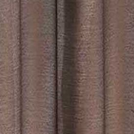 Solid Curtains: Chocolate Dainty Home Malibu Sheer Window Panel Pair