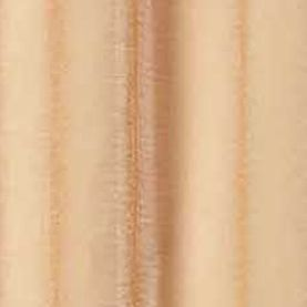 Solid Curtains: Gold Dainty Home Malibu Sheer Window Panel Pair