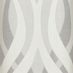 Patterned Curtains: Silver Dainty Home METROPOLITAN 76X84 PANEL PR SILVER
