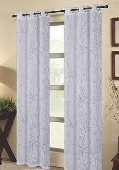 Dainty Home Natura Grommet Window Panel Pair