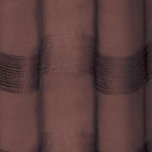 Patterned Curtains: Chocolate Dainty Home PARISIENNE 76X84 CHOC