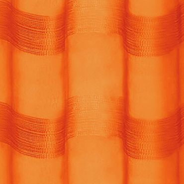 Patterned Curtains: Pumpkin Dainty Home PARISIENNE 76X84 SILVER