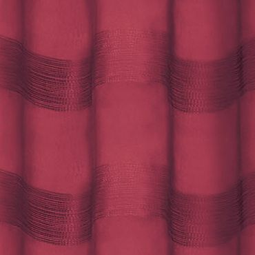 Patterned Curtains: Wine Dainty Home PARISIENNE 76X84 SILVER