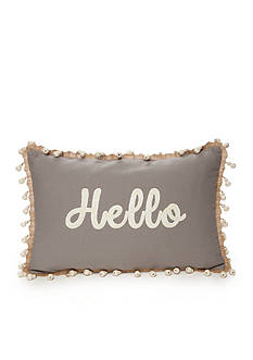 Elise & James Home™ Hello Decorative Pillow