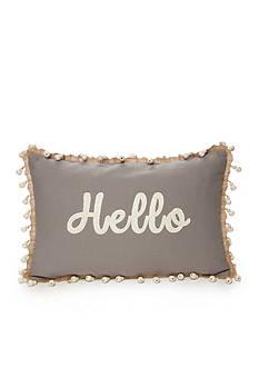 Elise & James Home™ Hello Decorative Pillow