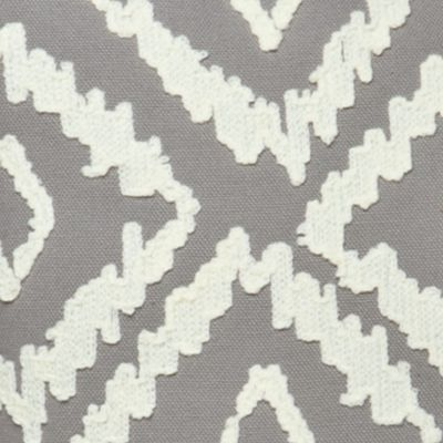 Decorative Pillows: Grey Elise & James Home™ IKAT GREY DIAMOND