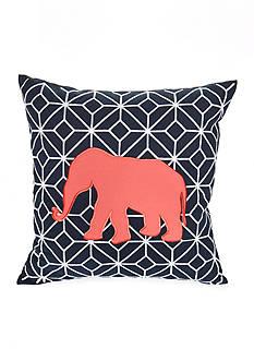 Elise & James Home™ Elephant Geo Decorative Pillow