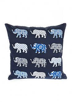 Elise & James Home™ Global Elephant Decorative Pillow