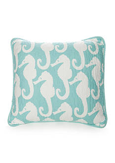 Elise & James Home™ Seahorse Square Pillow