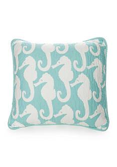 Elise & James Home™ Seahorse Square Pillow