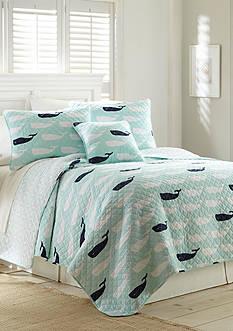 Elise & James Home™ Cape Whale Twin Quilt 66X86