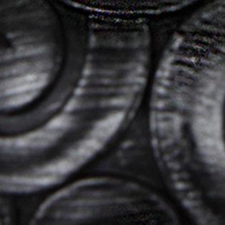 Window Hardware: Black Rod Desyne™ BONBON DBL 13/16 4884 BLK