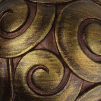 Window Hardware: Cocoa Rod Desyne™ BONBON DBL 13/16 4884 BLK