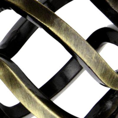 Window Hardware: Antique Brass Rod Desyne™ TWIST DBL 13/16 4884 STN NKL