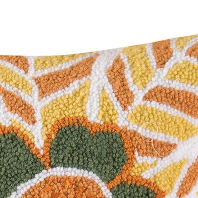 Quilts: Orange C&F ISABO STD SHAM