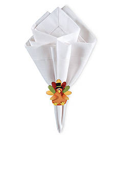 C&F Turkey Napkin Ring