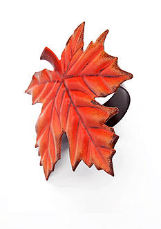 C&F Maple Leaf Napkin Ring