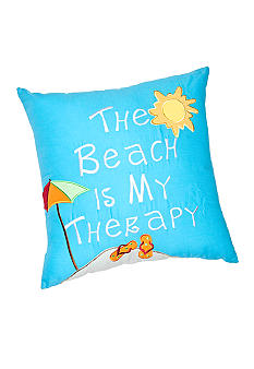 C&F Beach Therapy Decorative Pillow