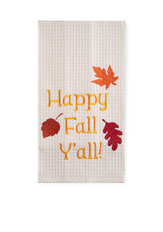 C&F Happy Fall Y'all Kitchen Towel